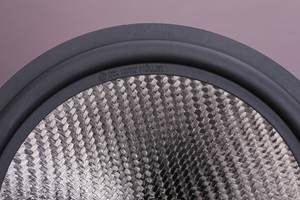 Loudspeaker membranes incorporate Stylight thermoplastic composite material