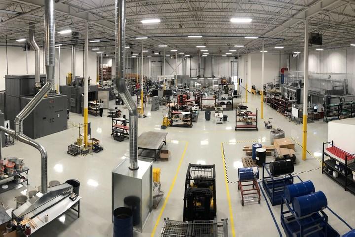 RAMPF's news Ontario, Michigan, composites facility