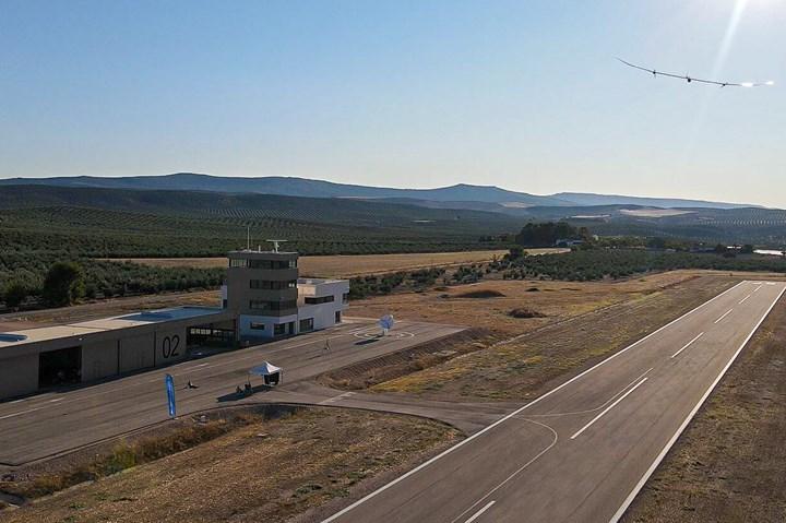 UAV platform testing in Spain