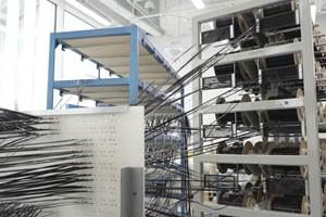 Skoltech优化拉挤工艺生产率