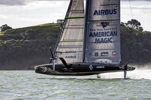 Symmetrix Composites, American Magic partner for America's Cup