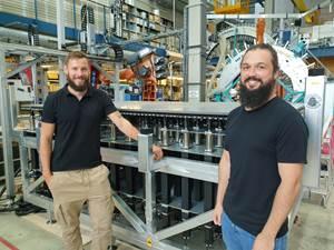 University of Stuttgart, Institute of Aircraft Design uses adaptive mold technology from Adapa