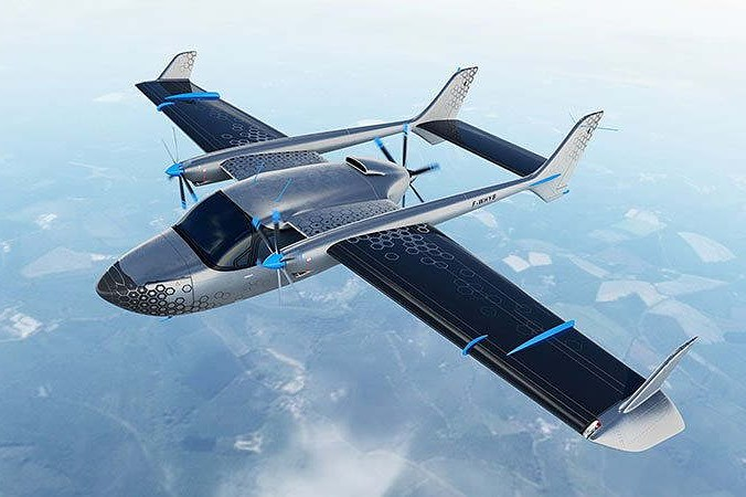 One of three of the Cassio family all-electric aircraft being developed.