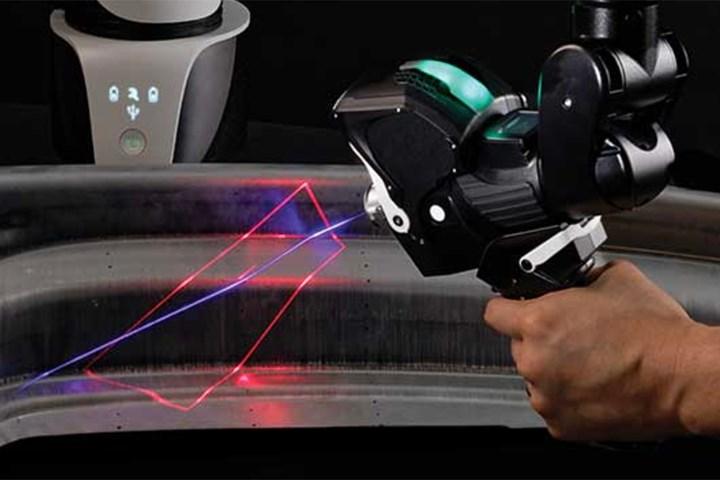 Exact Metrology RS6 surface scanner