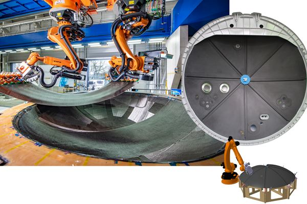 Automated aerocomposites production: Liquid molding or welded thermoplastic? image