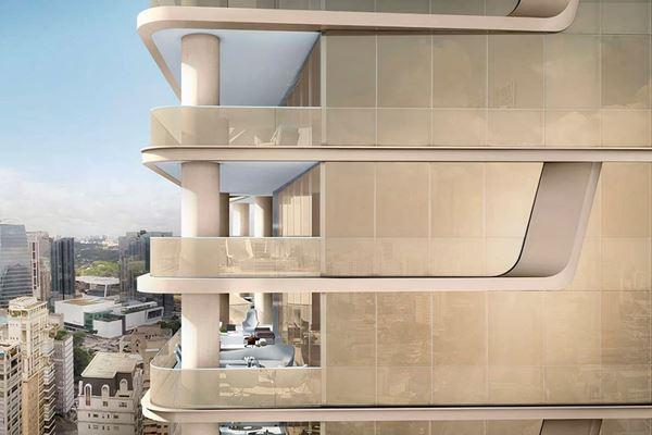 Composites meet precision, weight goals for complex facade design image