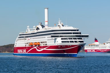 Viking Line, a cruise line and passengers and freight transport vessel