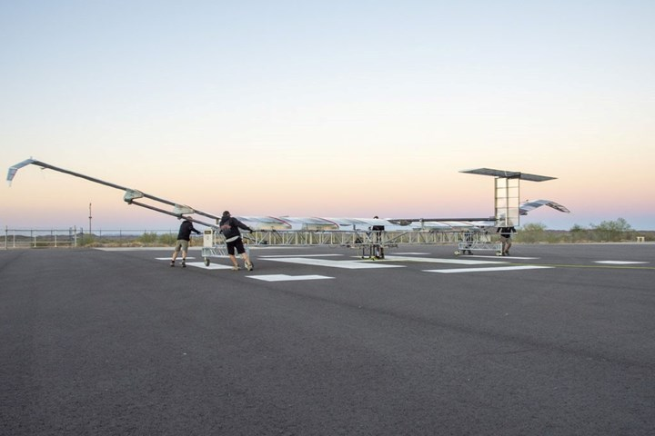 Airbus Zephyr High Altitude Platform Station (HAPS)