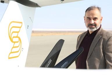 Samad Aerospace CEO, Dr Seyed Mohammad Mohseni.