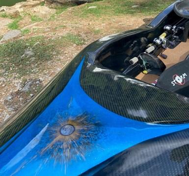carbon fiber fishing kayak