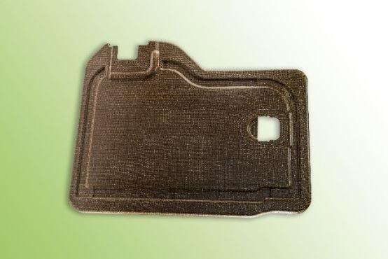 展示可回收的生物基自动复合材料图像