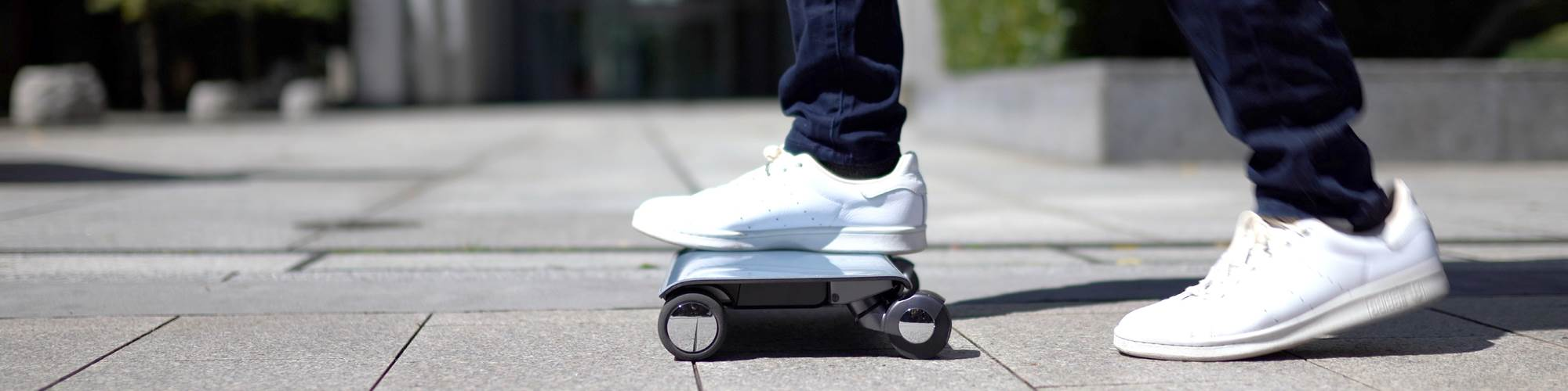 thermoplastic carbon fiber personal mover walkcar