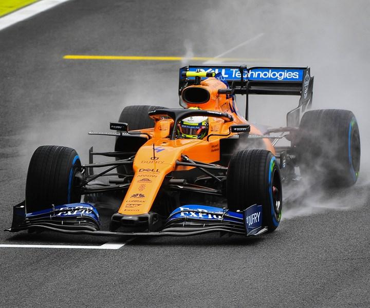 Formula 1 racecar McLaren Racing