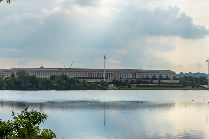 Pentagon, where the U.S. Department of Defense is housed.