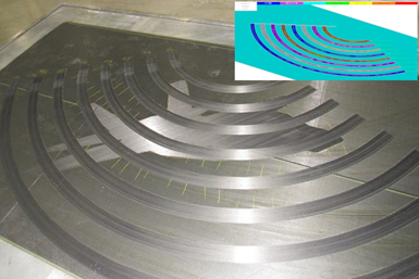 Fives Composites steered tows automated fiber placement