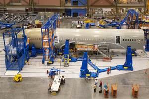 Boeing adjusts 2021 787 production downward