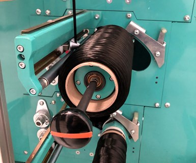 4M large-diameter carbon fiber made with Dralon textile-grade precursor