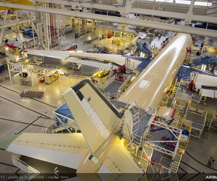 Airbus A350 final assembly line