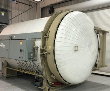 Composite Factory BondTech autoclave