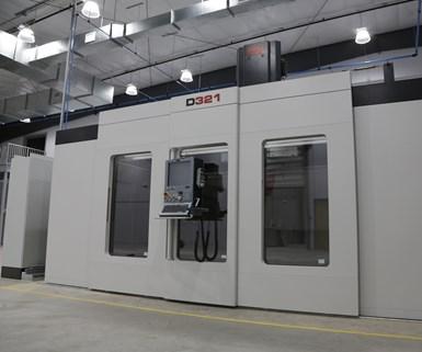Composite Factory Fidia CNC machine