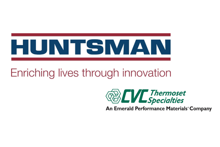 Huntsman and CVC Thermoset Specialties logos