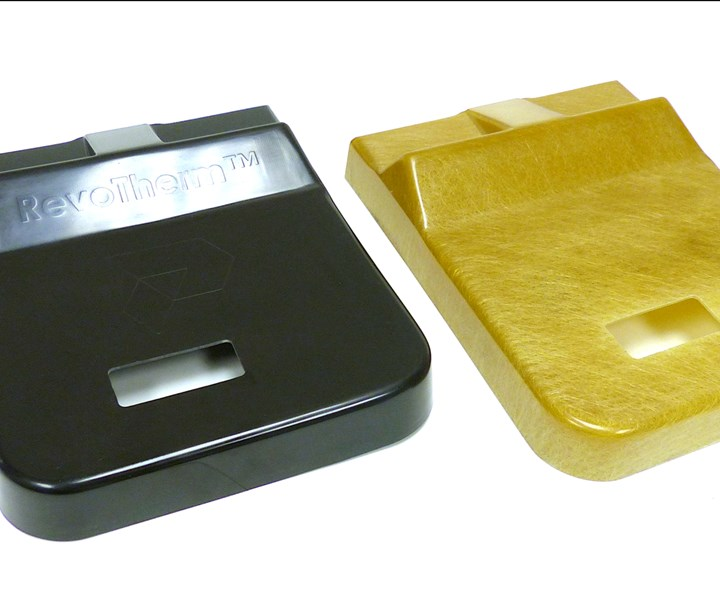 Presidium RevoTherm resin system; neat and reinforced parts