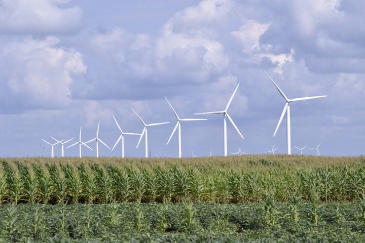 wind farm in Indiana