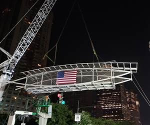 FRP chosen for New York pedestrian bridge as part of 9/11 rebuild project