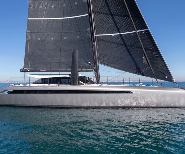 Hexcel materials, distribution partner selected for Gunboat 68 yacht image