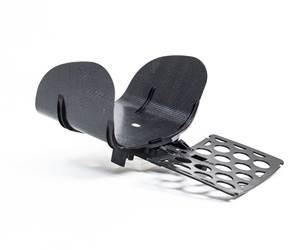 Tepex reinforces child seat headrest demonstrator