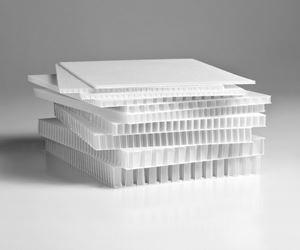 Econcore演变了热塑性,再生的蜂窝核心材料