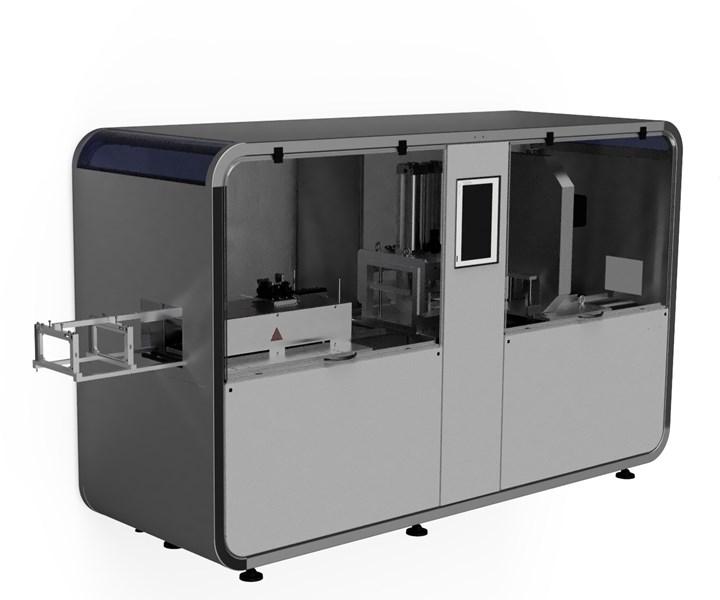 Thomas Technik + Innovation pullCUBE pultrusion machine at JEC World 2020