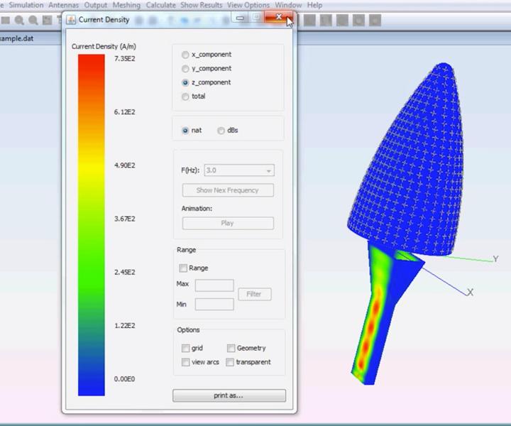 radome simulation software