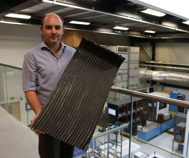3D woven composite for nuclear reactor