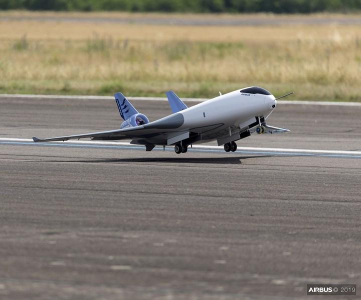 Airbus MAVERIC aircraft demonstrator