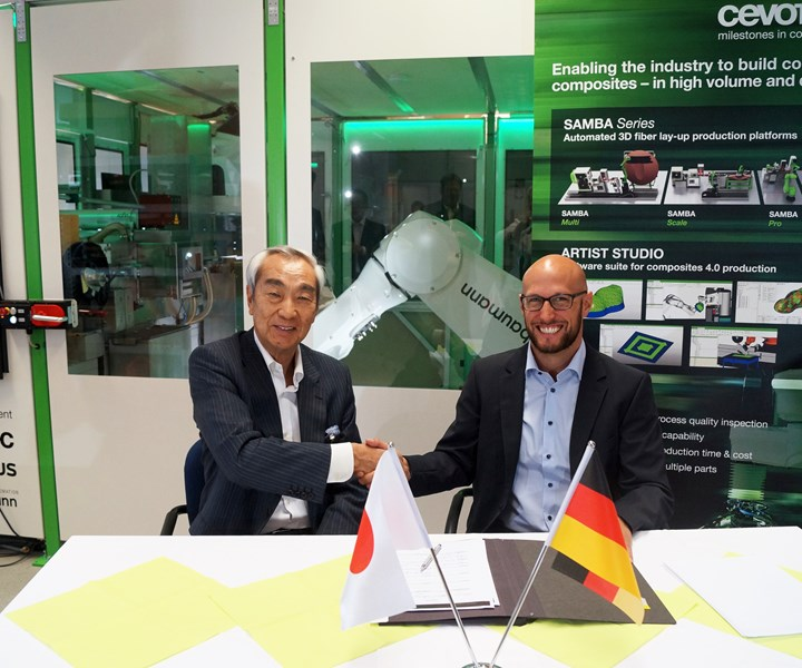 Cevotec and Fuji Industries sign collaboration agreement