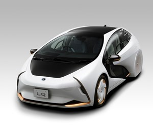 Covestro provides sustainable composite material for Toyota electric concept car