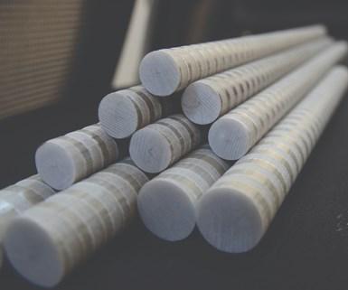composite rebar, FRP rebar, fiber reinforced plastic rebar, infrastructure, composites