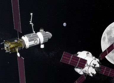 lunar gateway, composites, aerospace composites