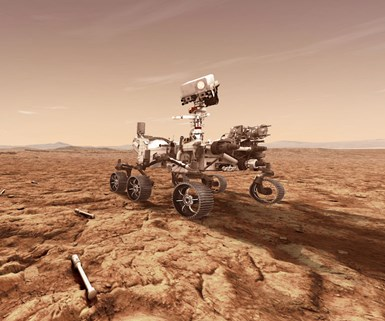 mars 2020 rover, space composites