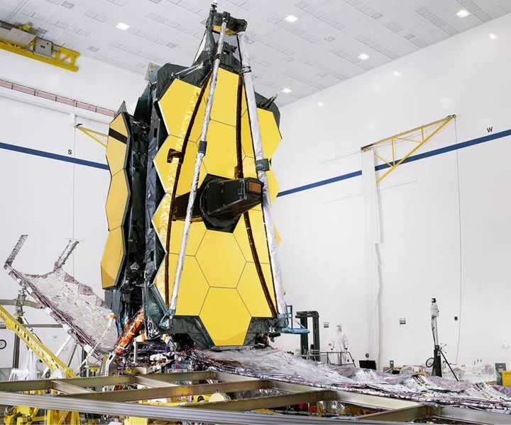 james webb telescope, carbon fiber, space composites, aerospace composites