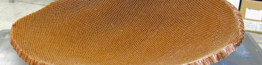 honeycomb core for satellite subassembly