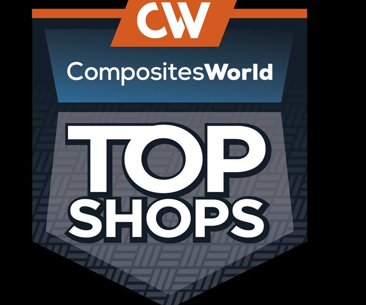 CompositesWorld Top Shops logo