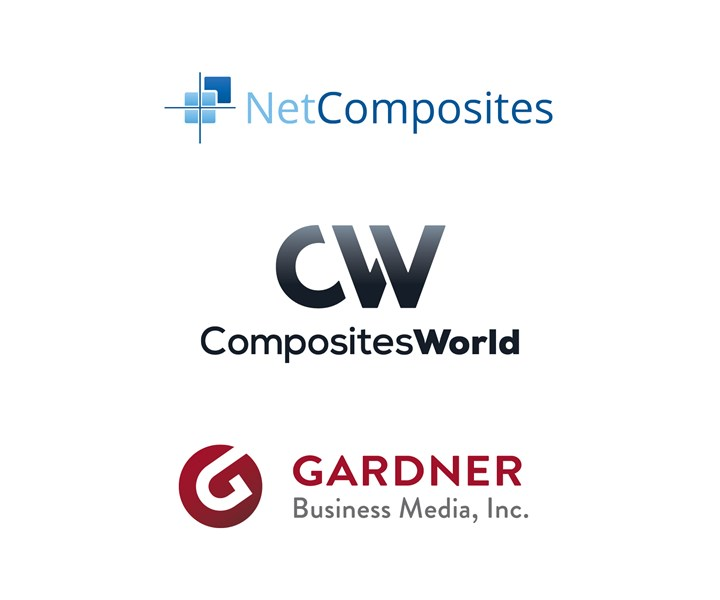 NetComposites CompositesWorld and Gardner Business Media logos