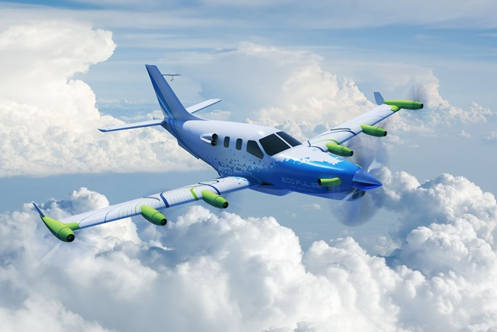 EcoPulse aircraft