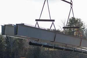 AIT Bridges contributes composite beams to Maine bridge replacement project