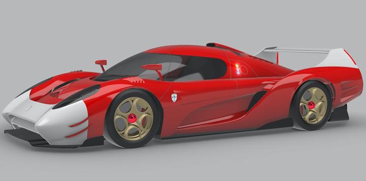 The SCG 007 racer.