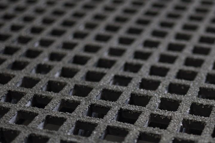 Dura Composites grating close-up.
