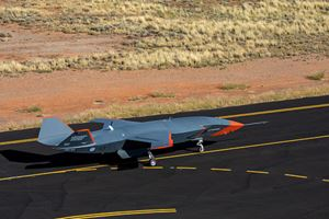 Uncrewed Loyal Wingman conducts first high-speed taxi test