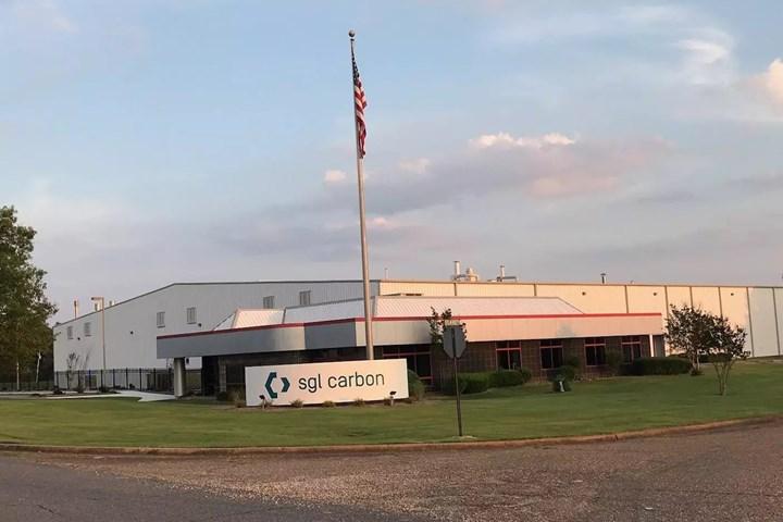 Arkadelphia facility of SGL Carbon